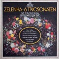 ホリガーらのゼレンカ/6つのトリオ・ソナタ集 独ARCHIV 2913 LP レコード