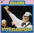 クレンペラーのブラームス/交響曲第1番 独EMI 2915 LP レコード