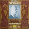 フルトヴェングラーのブラームス/交響曲第3番 独DGG 2915 LP レコード