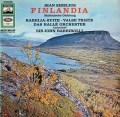 バルビローリのシベリウス/交響詩「フィンランディア」ほか 独EMI 2917 LP レコード