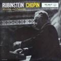 ルービンシュタインのショパン/マズルカ&ポロネーズ集 独RCA 2917 LP レコード