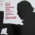 グールドのバッハ/フランス組曲ほか 独CBS 2917 LP レコード