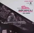 リヒテル&ラインスドルフのブラームス/ピアノ協奏曲第2番  独RCA 2919 LP レコード