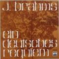 ケンペのブラームス/ドイツ・レクイエム 独EMI 2919 LP レコード