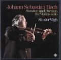 ヴェーグのバッハ/無伴奏ヴァイオリンのためのソナタとパルティータ  独TELEFUNKEN 2921 LP レコード