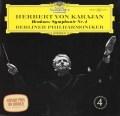 カラヤンのブラームス/交響曲第4番   独DGG 2923 LP レコード