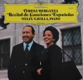ベルガンサ/スペイン歌曲集  独DGG 2923 LP レコード