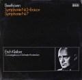 エーリヒ・クライバーのベートーヴェン/交響曲第3&7番 独DECCA 2923 LP レコード