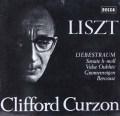 カーゾンのリスト/ピアノ作品集 独DECCA 2923 LP レコード
