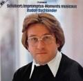 ブッフビンダーのシューベルト/「即興曲」&「楽興の時」 独TELEFUNKEN 2923 LP レコード