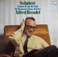 ブレンデルのシューベルト/ピアノソナタ第17番ほか 蘭PHILIPS 2923 LP レコード