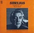バーンスタインのシベリウス/交響曲全集 英CBS 2923 LP レコード