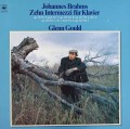 グールドのブラームス/間奏曲集 蘭CBS 2923 LP レコード