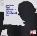 グールドのバッハ/パルティータ集 独CBS 2923 LP レコード