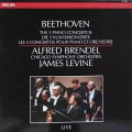 ブレンデル&レヴァインのベートーヴェン/ピアノ協奏曲全集 蘭PHILIPS 2923 LP レコード