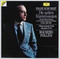 ポリーニのシューベルト/後期ピアノソナタ集 独DGG 2923 LP レコード
