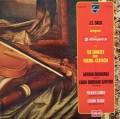 グリュミオーのバッハ/ヴァイオリンとチェンバロのためのソナタ集 仏PHILIPS 2925 LP レコード