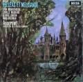 アンセルメのドビュッシー/「ペレアスとメリザンド」全曲 英DECCA 2925 LP レコード