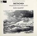 ブッシュ四重奏団のベートーヴェン/弦楽四重奏曲第13番 英CBS 2925 LP レコード