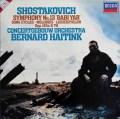 ハイティンクのショスタコーヴィチ/交響曲第13番「バビ・ヤール」ほか 蘭DECCA 2925 LP レコード