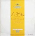 【独初期盤】フルトヴェングラーのシューベルト/交響曲第9番「ザ・グレイト」ほか 独DGG 2925 LP レコード