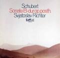 リヒテルのシューベルト/ピアノソナタ第21番 独MELODIA 2927 LP レコード