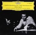 アルゲリッチ&アバドのショパン&リスト/ピアノ協奏曲 独DGG 2927 LP レコード