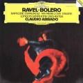 アバドのラヴェル/「ボレロ」ほか 独DGG 2927 LP レコード
