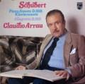 アラウのシューベルト/ピアノソナタ第19番ほか 蘭PHILIPS 2927 LP レコード