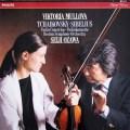 ムローヴァ&小澤のチャイコフスキー&シベリウス/ヴァイオリン協奏曲集 蘭PHILIPS 2927 LP レコード
