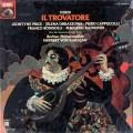 【未開封】カラヤンのヴェルディ/「イル・トロヴァトーレ」全曲 独EMI 2927 LP レコード