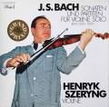 シェリングのバッハ/無伴奏ヴァイオリンソナタとパルティータ 独Dacapo 2927 LP レコード