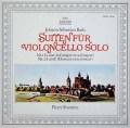 フルニエのバッハ/無伴奏チェロ組曲第1&2番 独ARCHIV 2929 LP レコード