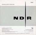イッセルシュテットのベートーヴェン/交響曲第9番「合唱付き」ほか 独NDR 2929 LP レコード
