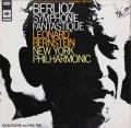 バーンスタインのベルリオーズ/幻想交響曲 独CBS 2929 LP レコード