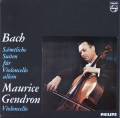 ジャンドロンのバッハ/無伴奏チェロ組曲全集 蘭PHILIPS 2929 LP レコード
