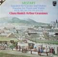 グリュミオー&ハスキルのモーツァルト/ヴァイオリン・ソナタ集 蘭PHILIPS 2931 LP レコード