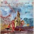 バーンスタインのマーラー/交響曲第2番「復活」 英CBS 2931 LP レコード