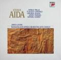レヴァインのヴェルディ/歌劇「アイーダ」全曲 蘭SONY 2931 LP レコード