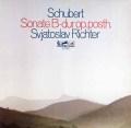 リヒテルのシューベルト/ピアノソナタ第21番 独eurodisc 2933 LP レコード