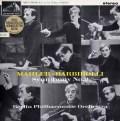 【オリジナル盤】バルビローリのマーラー/交響曲第9番 英EMI 2933 LP レコード