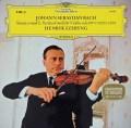 シェリングのバッハ/無伴奏ヴァイオリン・ソナタ&パルティータ第2番(シャコンヌ) 独DGG 2933 LP レコード