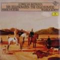 【未開封】 フルニエ&ケンプのベートーヴェン/チェロソナタ集 独DGG 2933 LP レコード