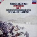 ハイティンクのショスタコーヴィチ/交響曲第6&11番「1905年」 蘭DECCA 2933 LP レコード