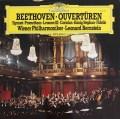 バーンスタインのベートーヴェン/序曲集  独DGG 2934 LP レコード