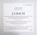 リヒターらのバッハ/協奏曲集   独ARCHIV 2934 LP レコード