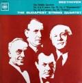 【モノラル】ブダペスト四重奏団のベートーヴェン/弦楽四重奏曲第8&11番   英CBS 2934 LP レコード