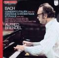 ブレンデルのバッハ/イタリア協奏曲ほか    仏PHILIPS 2934 LP レコード