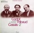 コルトー、ティボー&カザルスのベートーヴェン/ピアノ三重奏曲「大公」    独ELECTROLA 2934 LP レコード