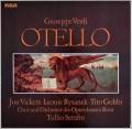 セラフィンのヴェルディ/「オテロ」全曲    独RCA 2934 LP レコード